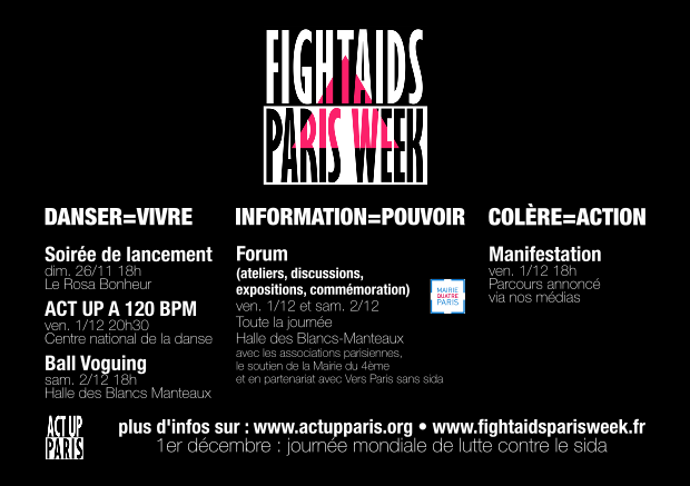 fight-aids-paris-week-affiche