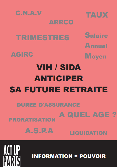 Brochure « VIH / sida – Anticiper sa future retraite »