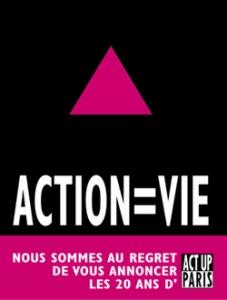 ACTION = VIE, le livre des 20 ans d'Act Up-Paris