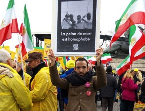 Contre la venue de Rohani, Premier Ministre d'Iran et le silence de Hollande