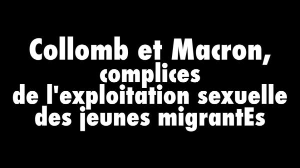 Collomb, Macron, Migrants