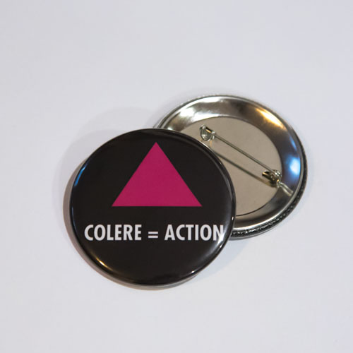 Badge COLERE = ACTION