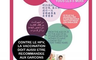 Campagne Inca Cancer du col 2017