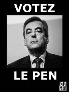 Votez Le Pen (Fillon)