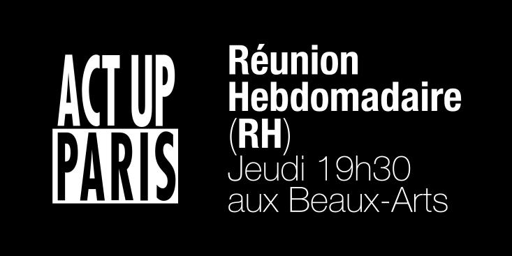 rh reunion hebdomaaire act up paris