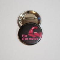 Badge Fier d'en mettre