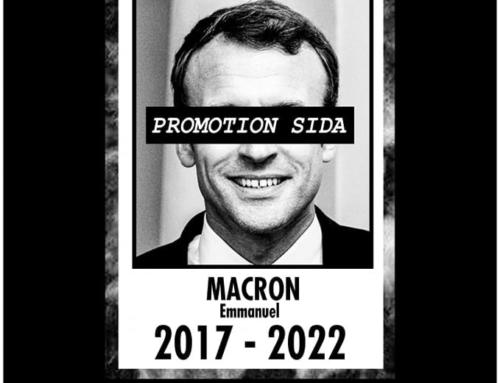 1er décembre – 2017-2022 : MACRON PROMOTION SIDA