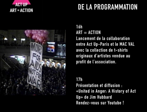 ACT UP-PARIS au MACVAL